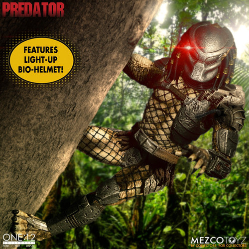 mezco one 12 collective predator deluxe edition figure