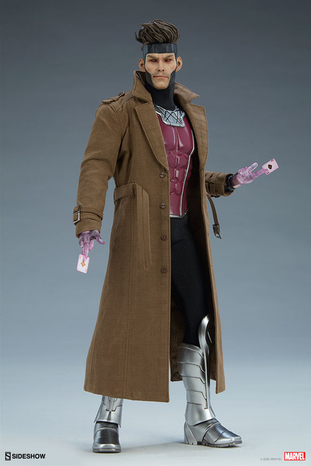 sideshow collectibles gambit deluxe sixth scale figure