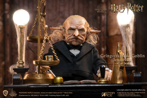 star ace gringotts head goblin deluxe version sixth scale figure