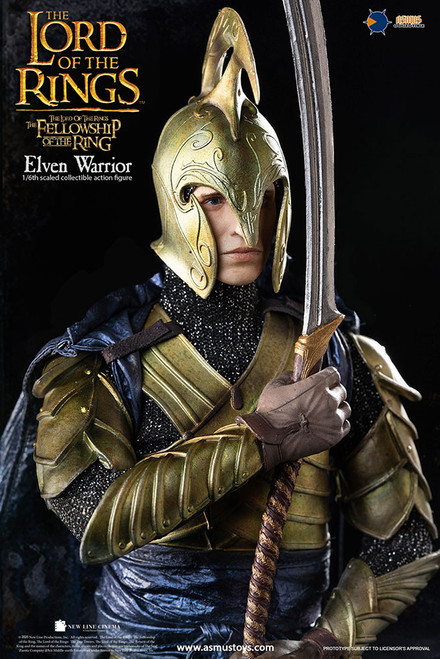 asmus toys lord of the rings elven warrior 1/6 scale figure