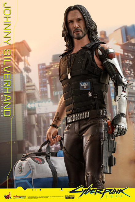hot toys johnny silverhand 1/6 scale figure