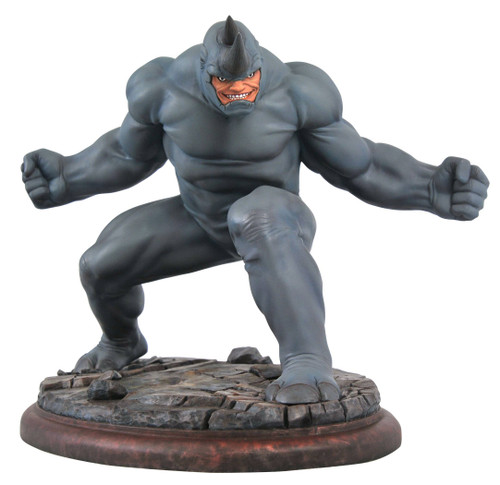 diamond select toys marvel premier collection rhino statue