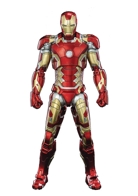 threezero iron man mk43 dlx 1/12 scale figure