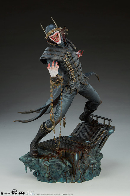 sideshow collectibles batman who laughs premium format figure