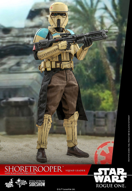 hot toys shoretrooper squad leader sixth scale figure