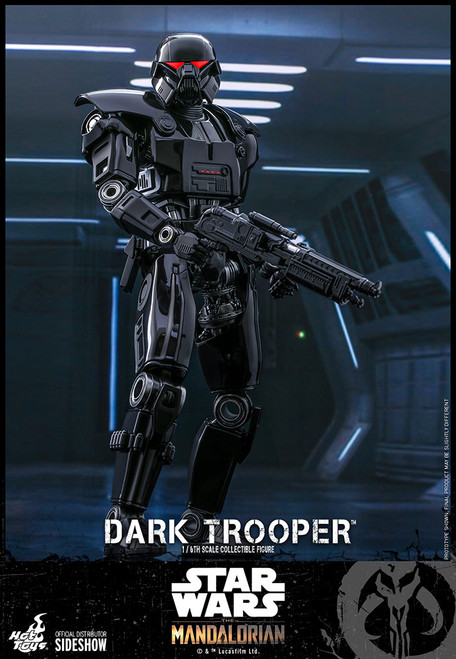 hot toys dark trooper sixth scale figure