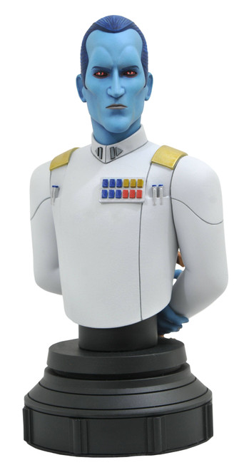 diamond select toys star wars rebels thrawn bust