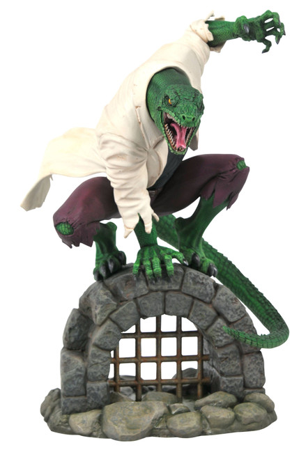 diamond select toys marvel premier collection lizard statue
