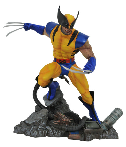 diamond select toys marvel gallery vs wolverine pvc statue