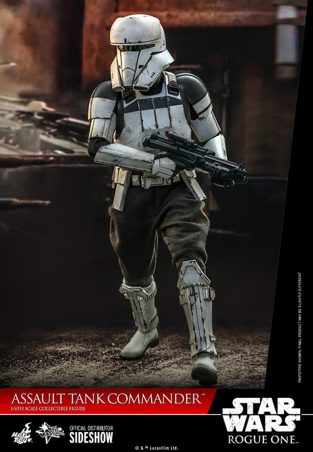 hot toys assault tank commander sixth scale figure