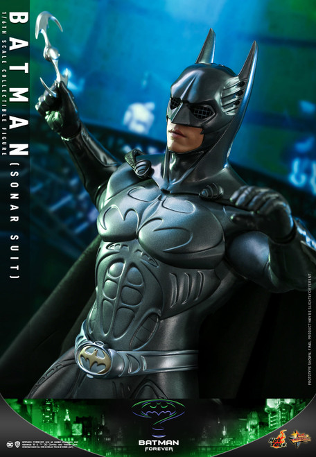 hot toys batman sonar suit sixth scale figure
