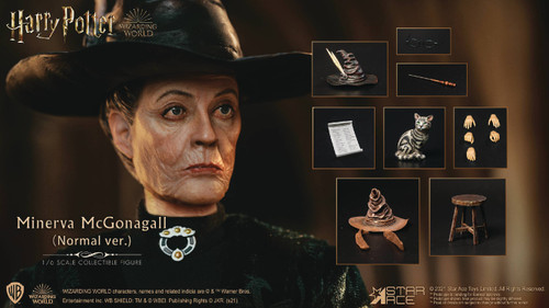 star ace toys harry potter sorcerers stone minerva mcgonagall sixth scale figure
