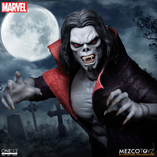 mezco one 12 collective morbius action figure