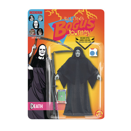 incendium fig biz bill teds bogus journey death action figure