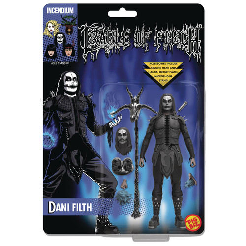 incendium fig biz cradle of filth dani filth action figure