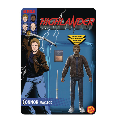 incendium fig biz highlander connor macleod action figure