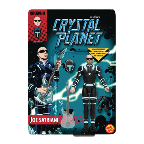 incendium fig biz joe satriani crystal planet action figure