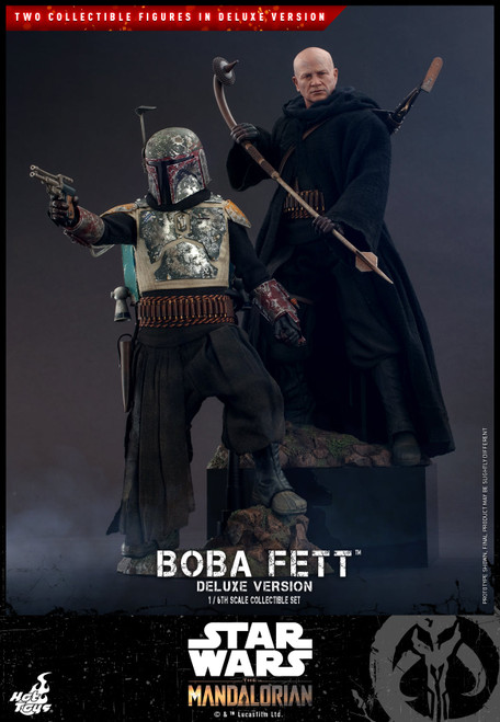 hot toys boba fett deluxe version mandalorian
