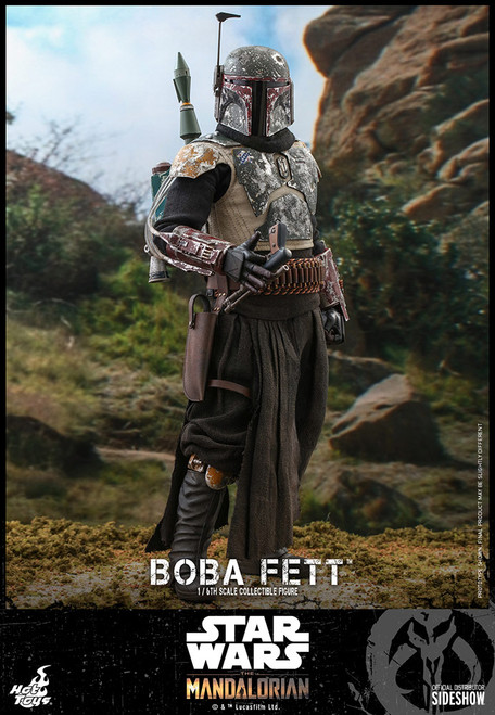 hot toys boba fett mandalorian sixth scale figure