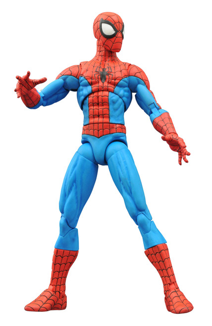 diamond select toys marvel select spectacular spider-man action figure