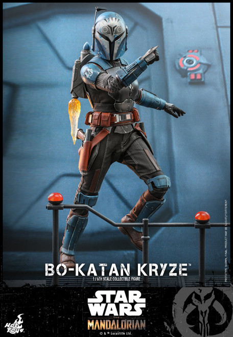 hot toys bo katan kryze sixth scale action figure