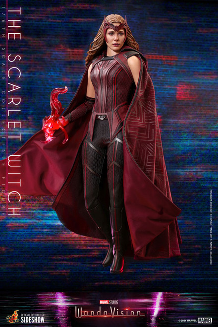 hot toys scarlet witch wandavision sixth scale figure