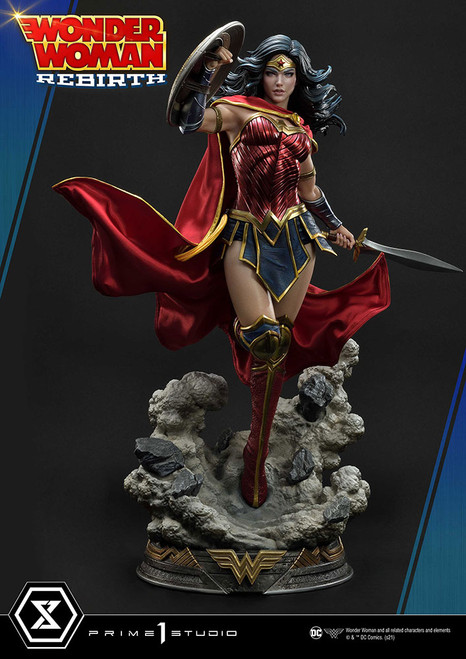 prime 1 studio wonder woman rebirth statue
