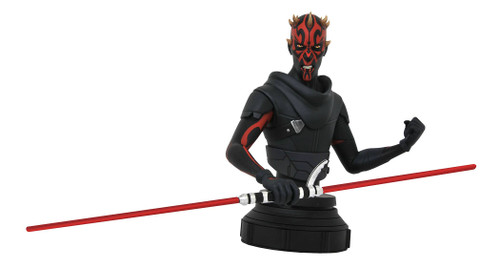 diamond select toys star wars rebels darth maul bust