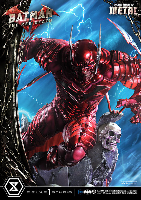 prime 1 studio dark nights metal red death statue