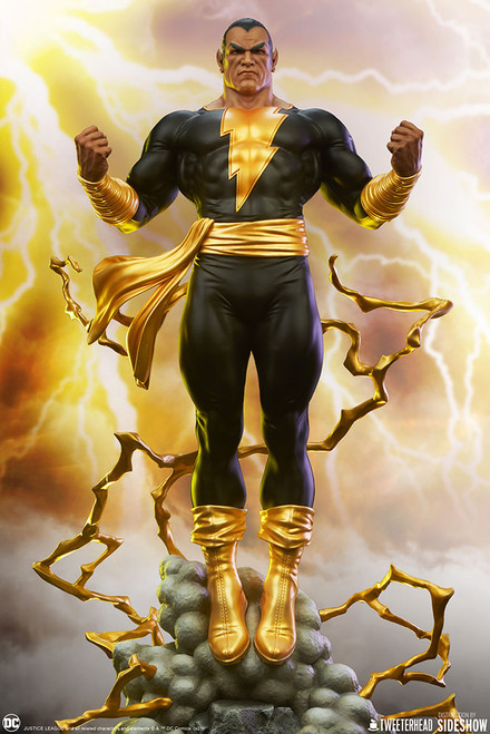 tweeterhead black adam maquette