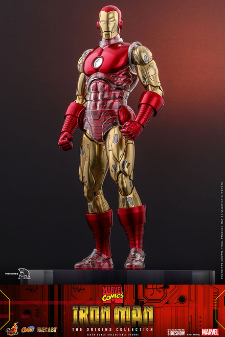 hot toys iron man sixth scale figure origins collection