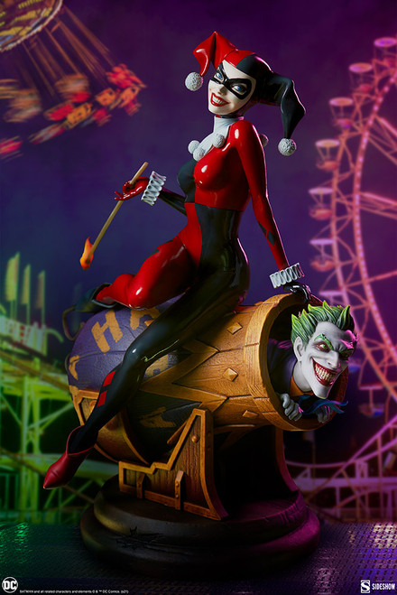 sideshow collectibles harley quinn joker diorama
