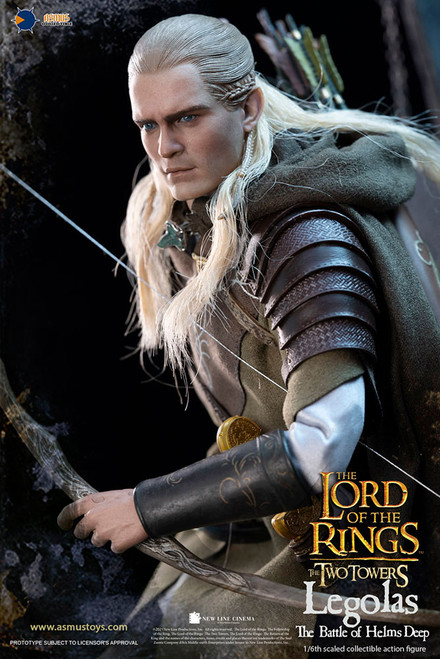 asmus toys legolas at helms deep sixth scale figure
