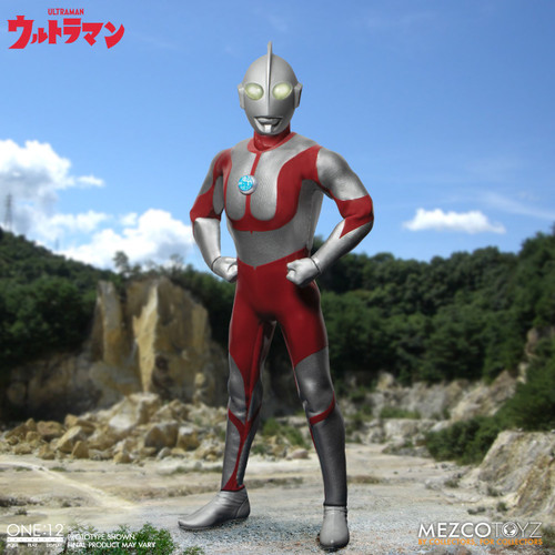 mezco one 12 collective ultraman action figure