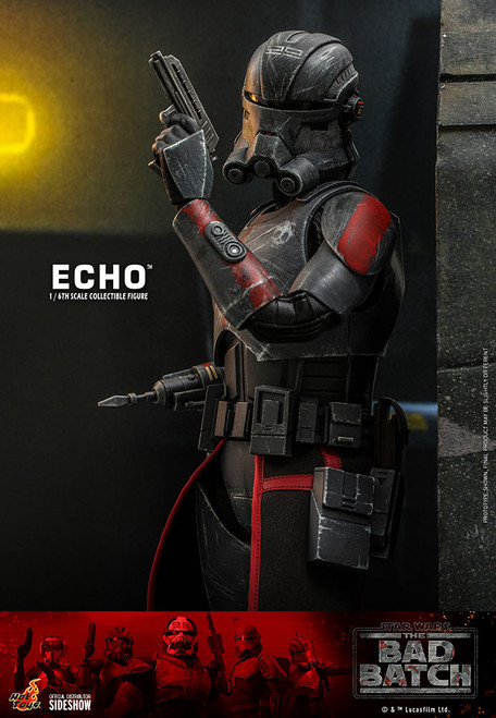 hot toys bad batch echo sixth scale figure