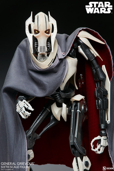 sideshow collectibles general grievous sixth scale figure