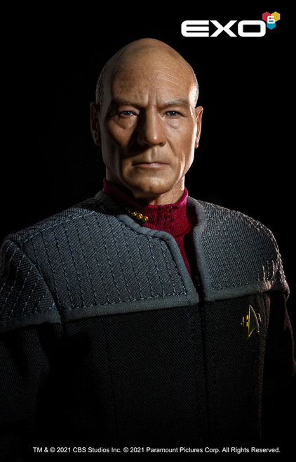 exo 6 captain jean luc picard sixth scale figure