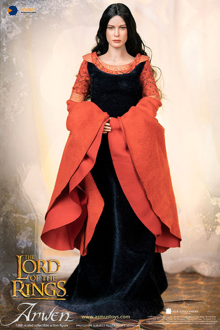 asmus toys arwen in death frock sixth scale figure