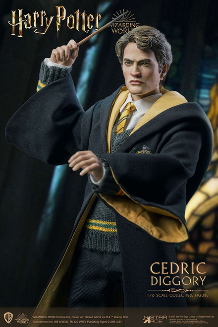 star ace toys harry potter cedric diggory deluxe version sixth scale figure