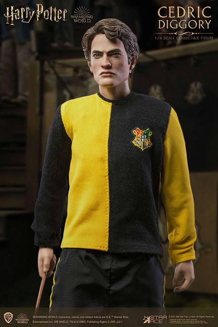 star ace toys harry potter cedric diggory tri wizard version sixth scale figure