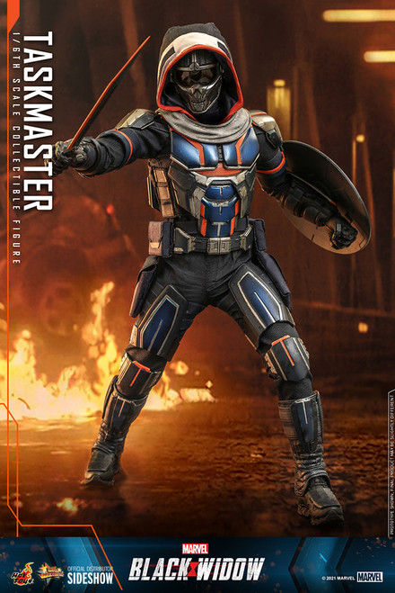 hot toys taskmaster one sixth scale figure