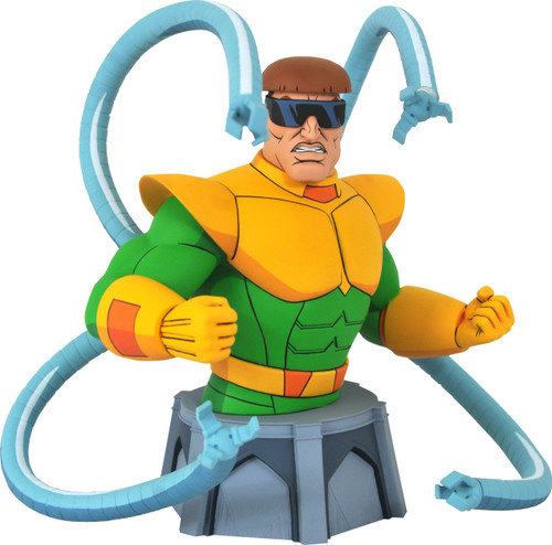 diamond select toys marvel animated doctor octopus bust