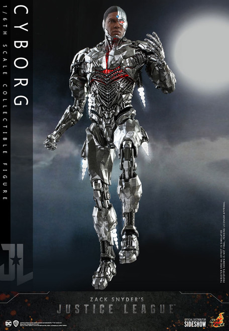 hot toys cyborg one sixth scale figure