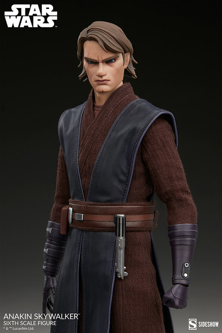 sideshow collectibles anakin skywalker one sixth scale figure