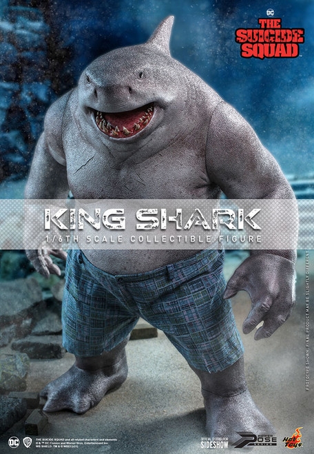 hot toys king shark one sixth scale figure