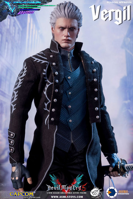 asmus toys devil may cry vergil one sixth scale figure