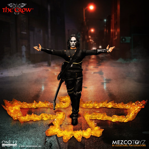 mezco one 12 collective the crow action figure