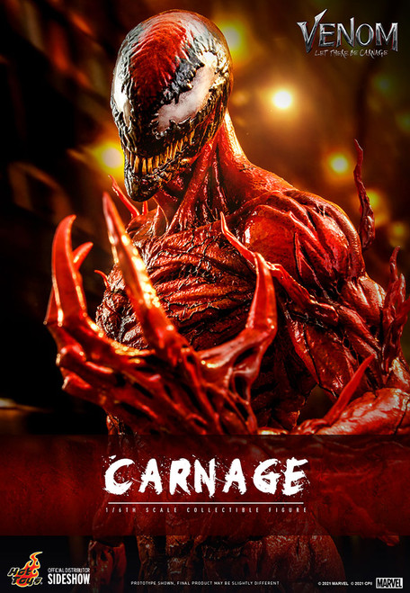 hot toys carnage one sixth scale figure