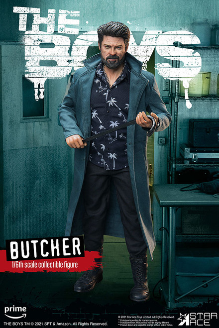 star ace the boys billy butcher one sixth scale figure
