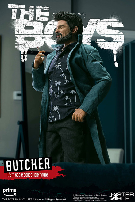 star ace toys the boys billy butcher one sixth scale figure